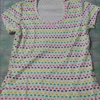 Rainbow Heart Shirt
