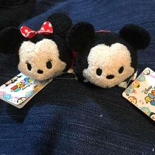 日本disneystore購入 正版tsum公仔 Minnie Mickey