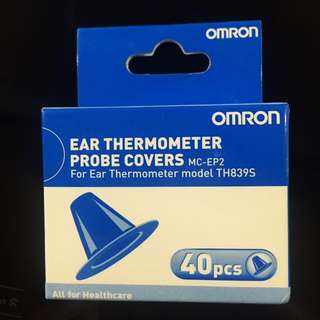 BNIB Omron Ear Thermometer Cover