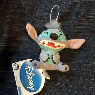 笑到肚痛 眯眼Stitch Disney日本公仔