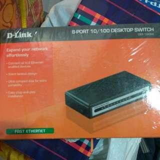 d link 8 port desktop switch