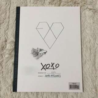 EXO's XOXO Album Korean Ver.
