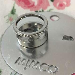 Mimco Ring (silver/Medium)