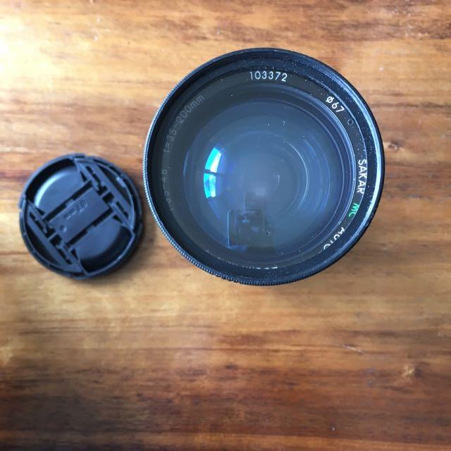 35-200mm 1:3.5-4.8 Lens