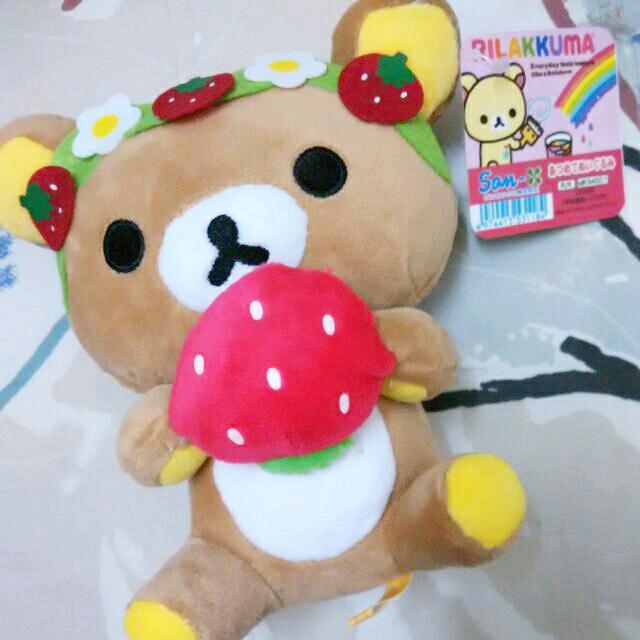 『日本正版拉拉熊娃娃』