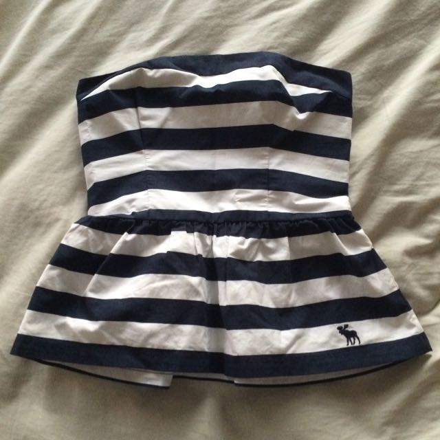Abercrombie And Fitch Strapless Top