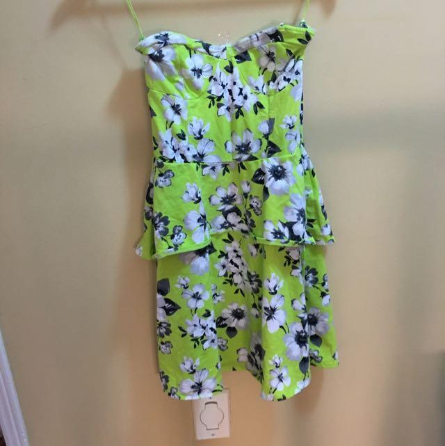 Aero Strapless Summer Dress