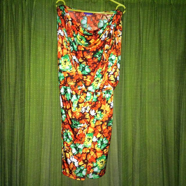 Arithalia Flowers Dress-Centro Brand
