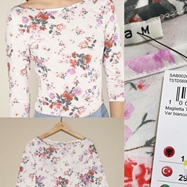 Authentic Terranova Floral Blouse