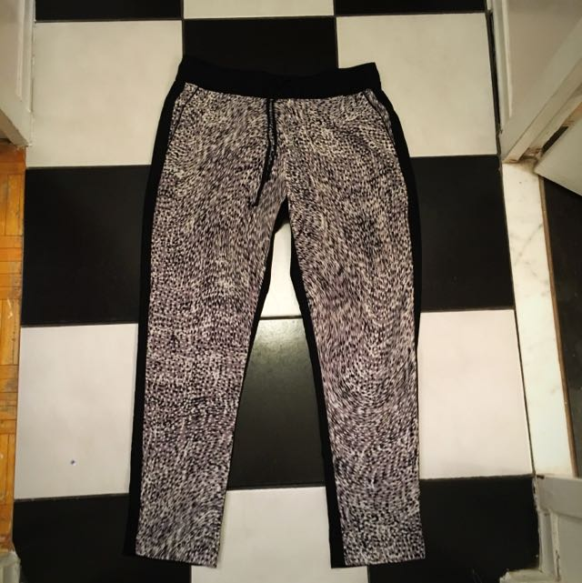 Banana Republic High waist Drawstring Pants