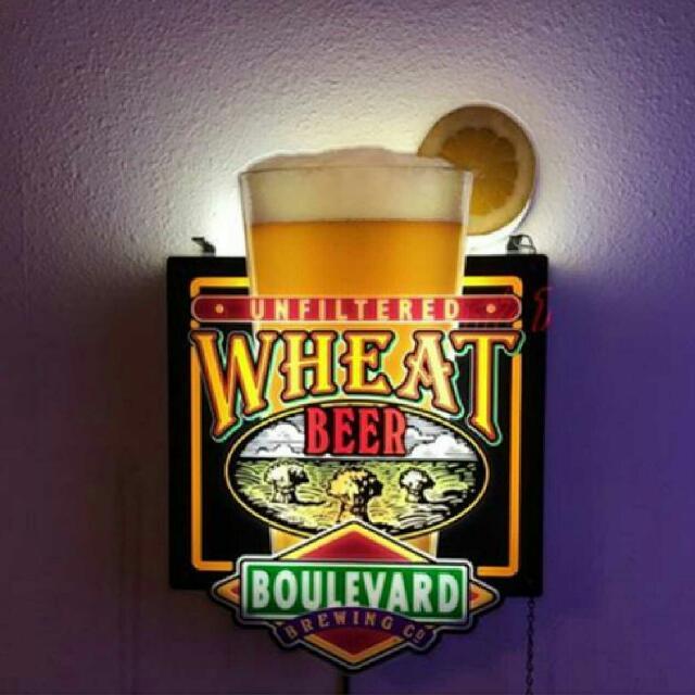 Boulevard Wheat Beer Neon Sign
