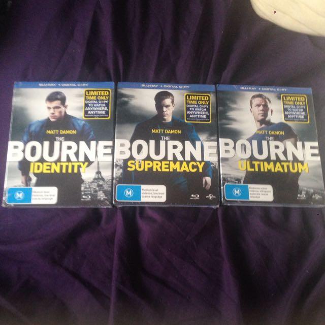 Bourne Films Trilogy
