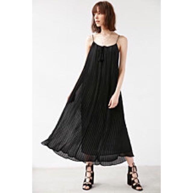 Carolina K Milla Pleated Maxi Dress