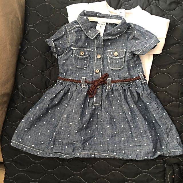 Carters Dress With Cardigan