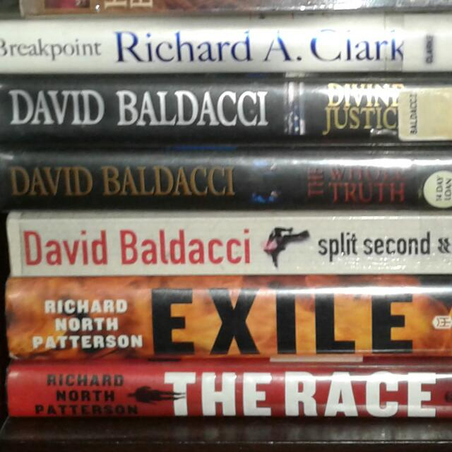 David Baldacci, Richard Patterson & Richard Clark Book Collections