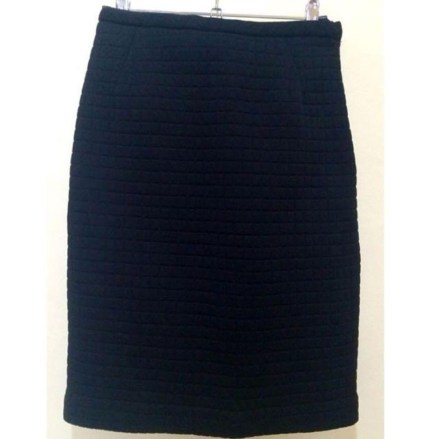 DKNY Boucle Skirt