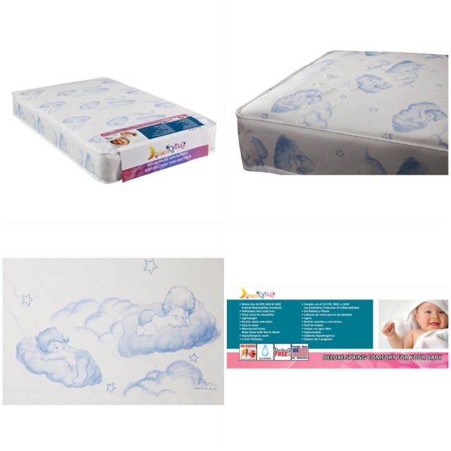 "Dream on me, 5"" inner spring play yard mattress"