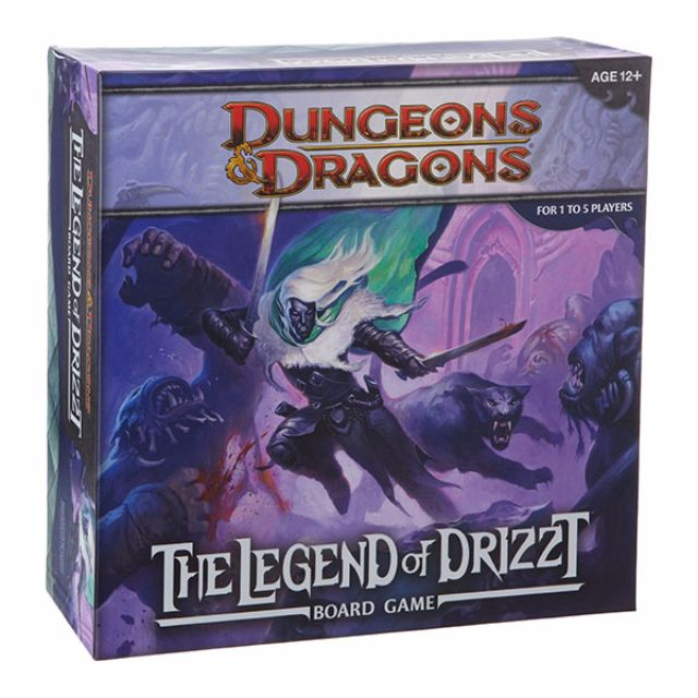 Dungeons & Dragons: Legends of Drizzt Board Game