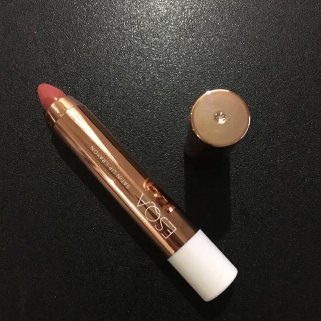 Esqa Crayon Lipstick In Poppy Peach