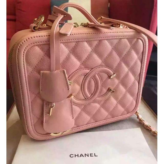 1e77d57a46ff For Sale! Rare Chanel Vanity Case bag
