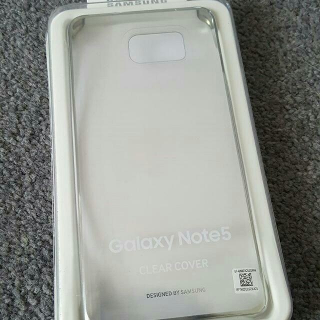 Genuine Original Samsung Galaxy Note 5 Clear Case