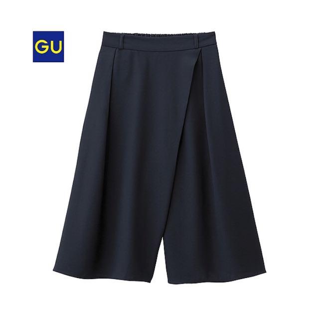 GU女裝輕便寬褲(含運400)