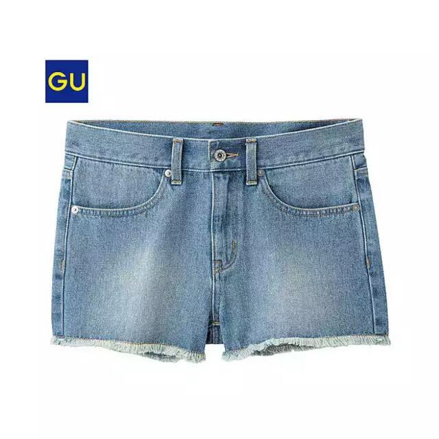 GU牛仔短褲(全新)