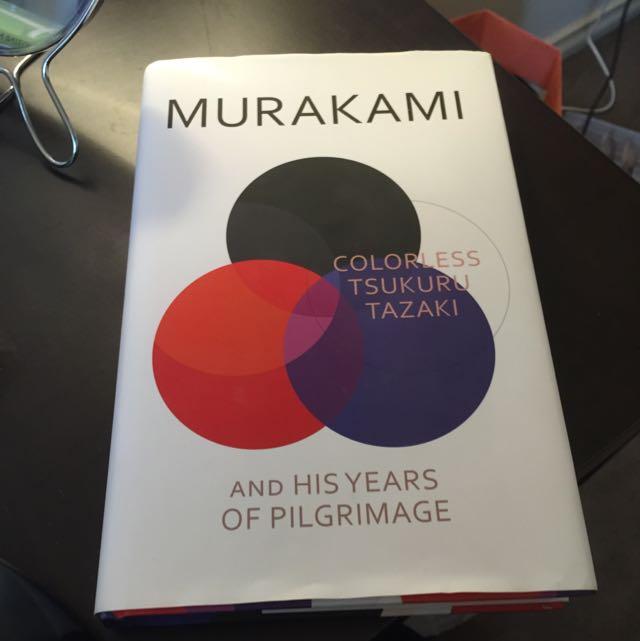 """haruki murakami """"colorless Tsukuru tazaki"""""""