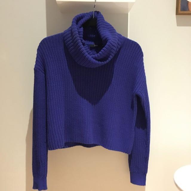Indigo Knitted Jumper