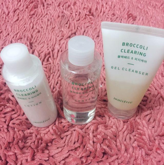 Innisfree Broccoli Clearing Skincare