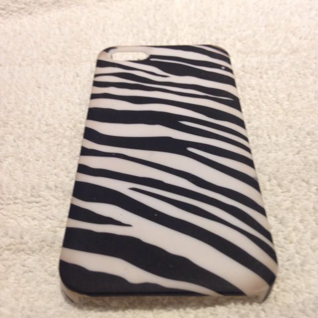 iPhone 5c Zebra Case