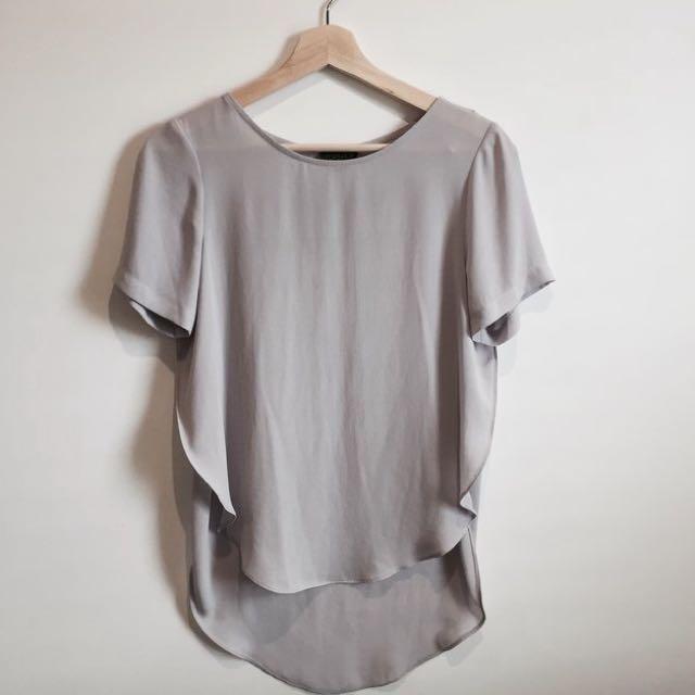 Lavender Shear Shirt