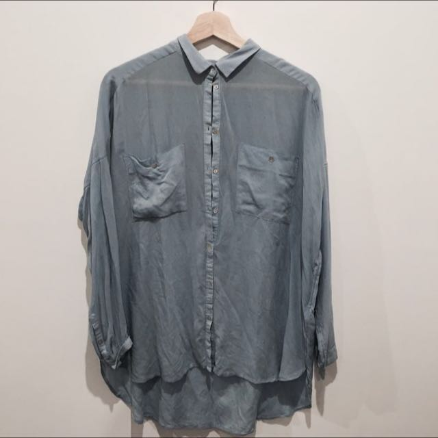 Lightweight Oversized Shirt