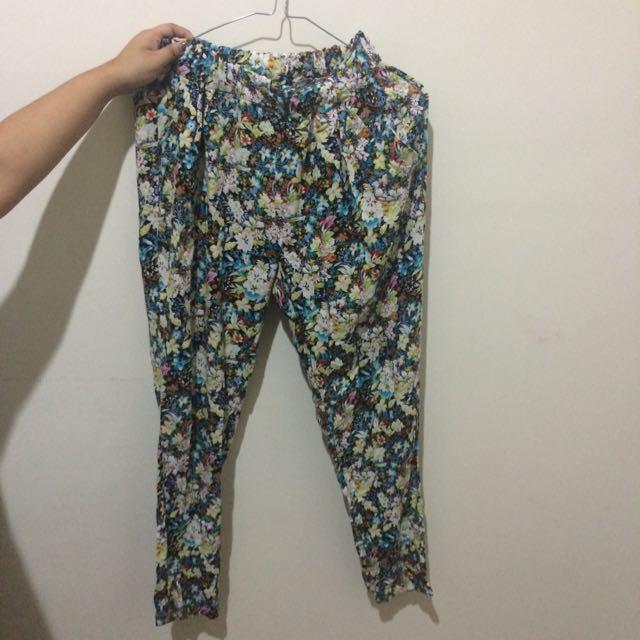 Magnolia Flowery Pants