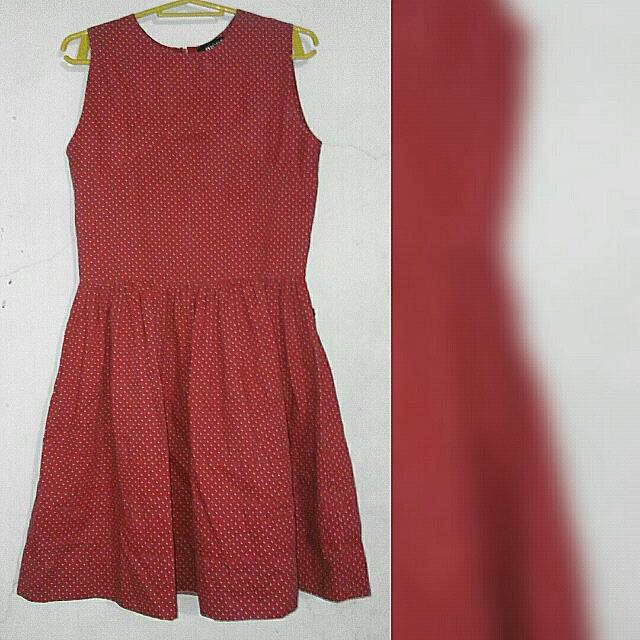MEG Red Polka Dress