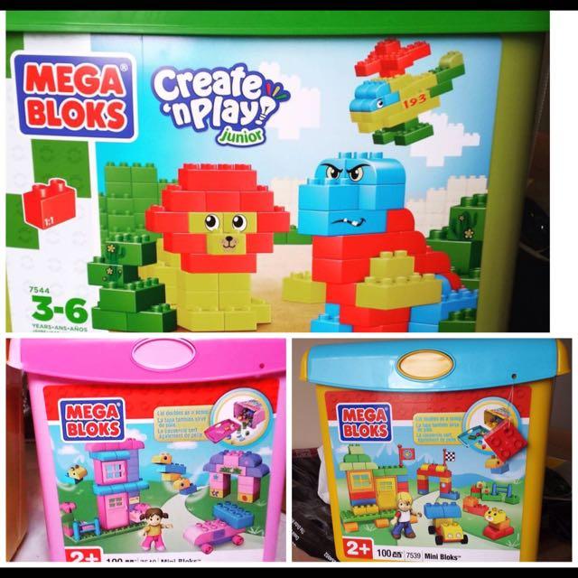 MEGA BLOKS not LEGO