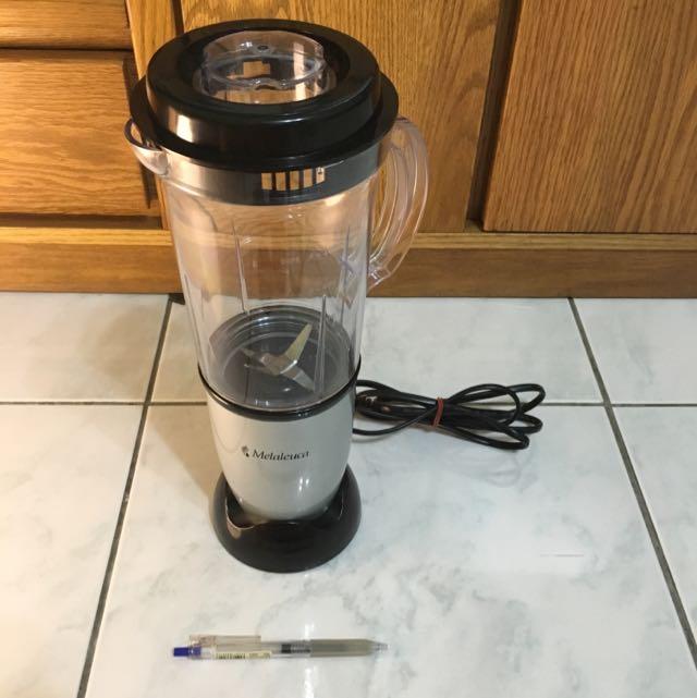 『食物調理機』美樂家Melaleuca,10秒全能調理機,附原箱和說明書(保留中)