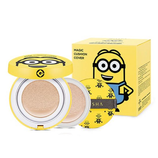 MISSHA X MINIONS Magic Cushion Cover Special Package 15G+15G(Refill)