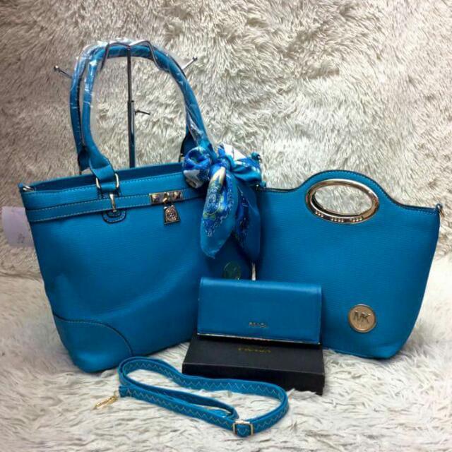 MK Bag And Wallet (Set)