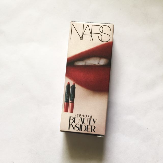 NARS Velvet Matte Lip pencils X2