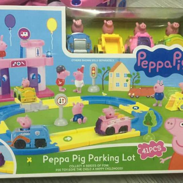 Peppa PIG parking Lot