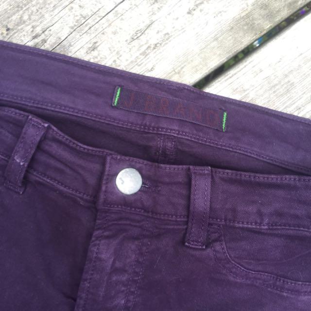 Purple J Brand Jeans