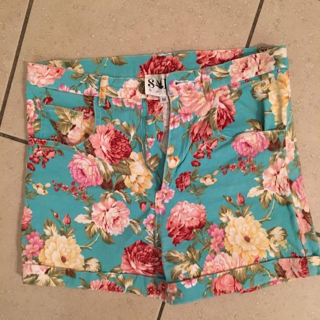 """""""Sabo Skirt"""" High Wasted Shorts"""