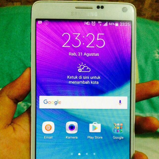 Samsung Galaxy Note 4 White Garansi Resmi Sein