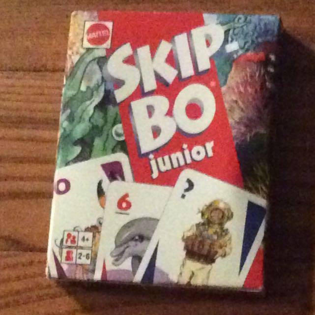 SkipBo Junior Cards