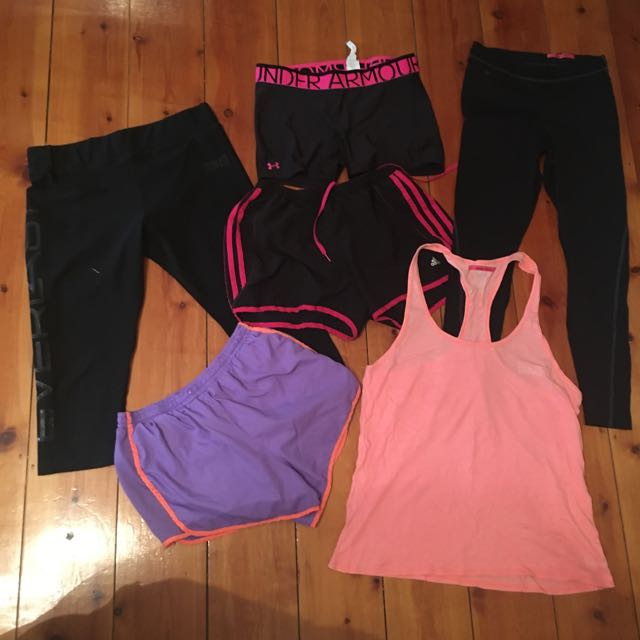 Sports Clothes Bundle! ADIDAS, EVERLAST and UNDERAMOR brands