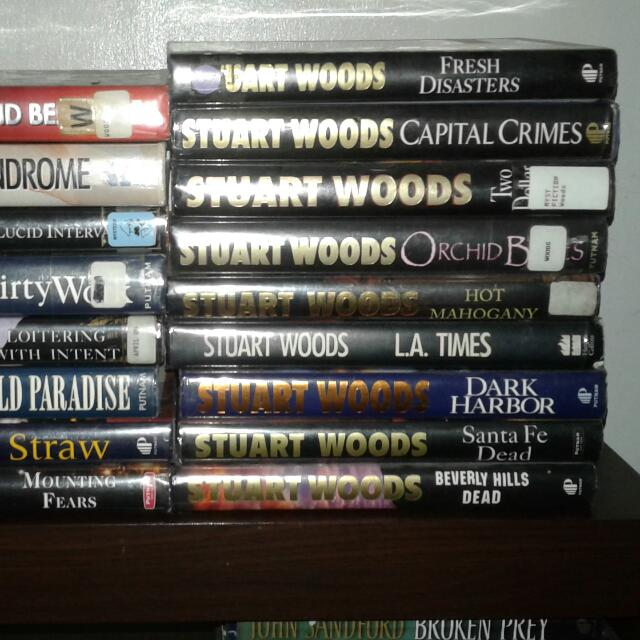 Stuart Woods Book Collections