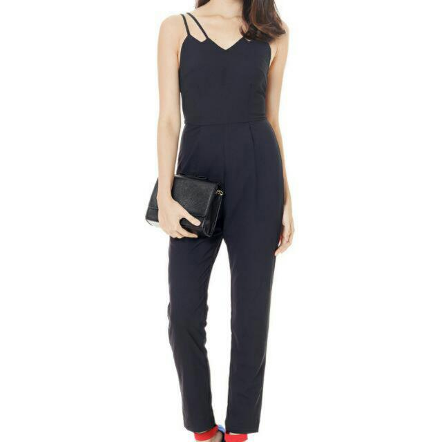 9f825e2fec9 RTP 33.00 - TCL Keep It Minimal Jumpsuit In Black