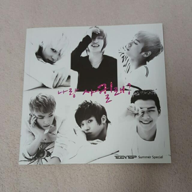 Teen Top Albums For Around 17