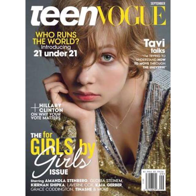 Teen Vogue Tavi Gevinson